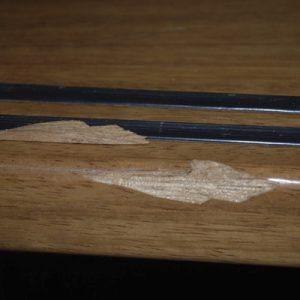 Uitdagende schades herstellen, hier aan de rand van een traptrede