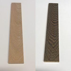 workshops met Blanchon, het effect van houtverouderaar